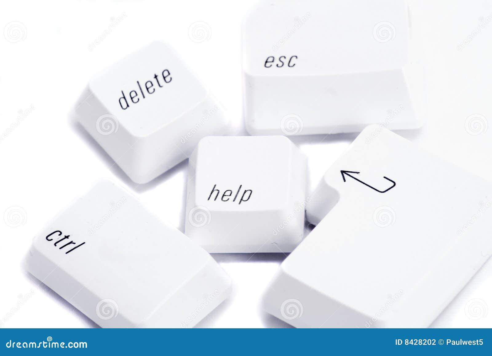 Various computer keys