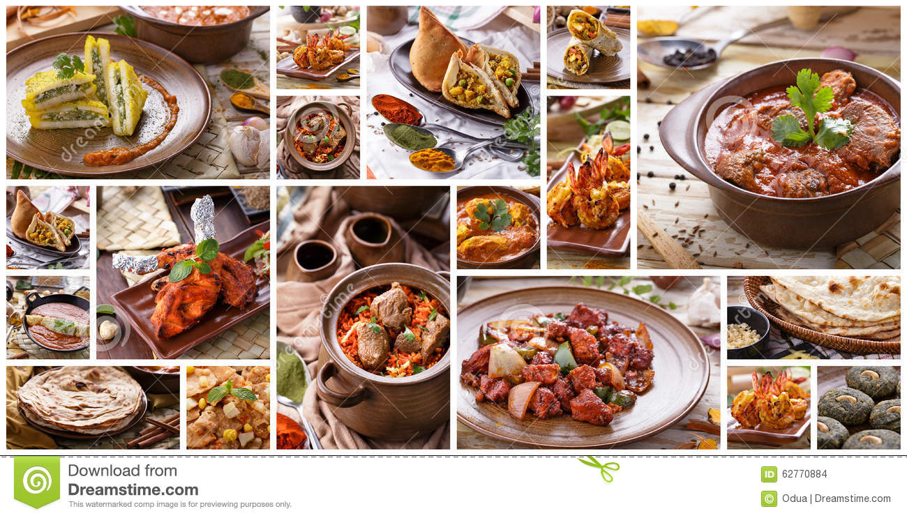 Indian food collage images galleries Cuisines of india