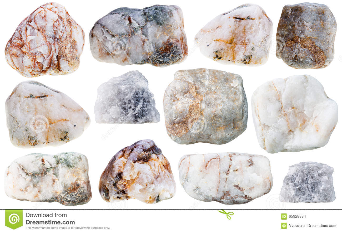 Various marble natural mineral stones and rocks stock for Marmol mineral