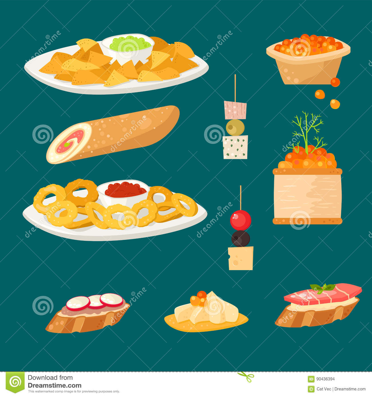 Dish cartoons illustrations vector stock images 44788 for Fish and cheese