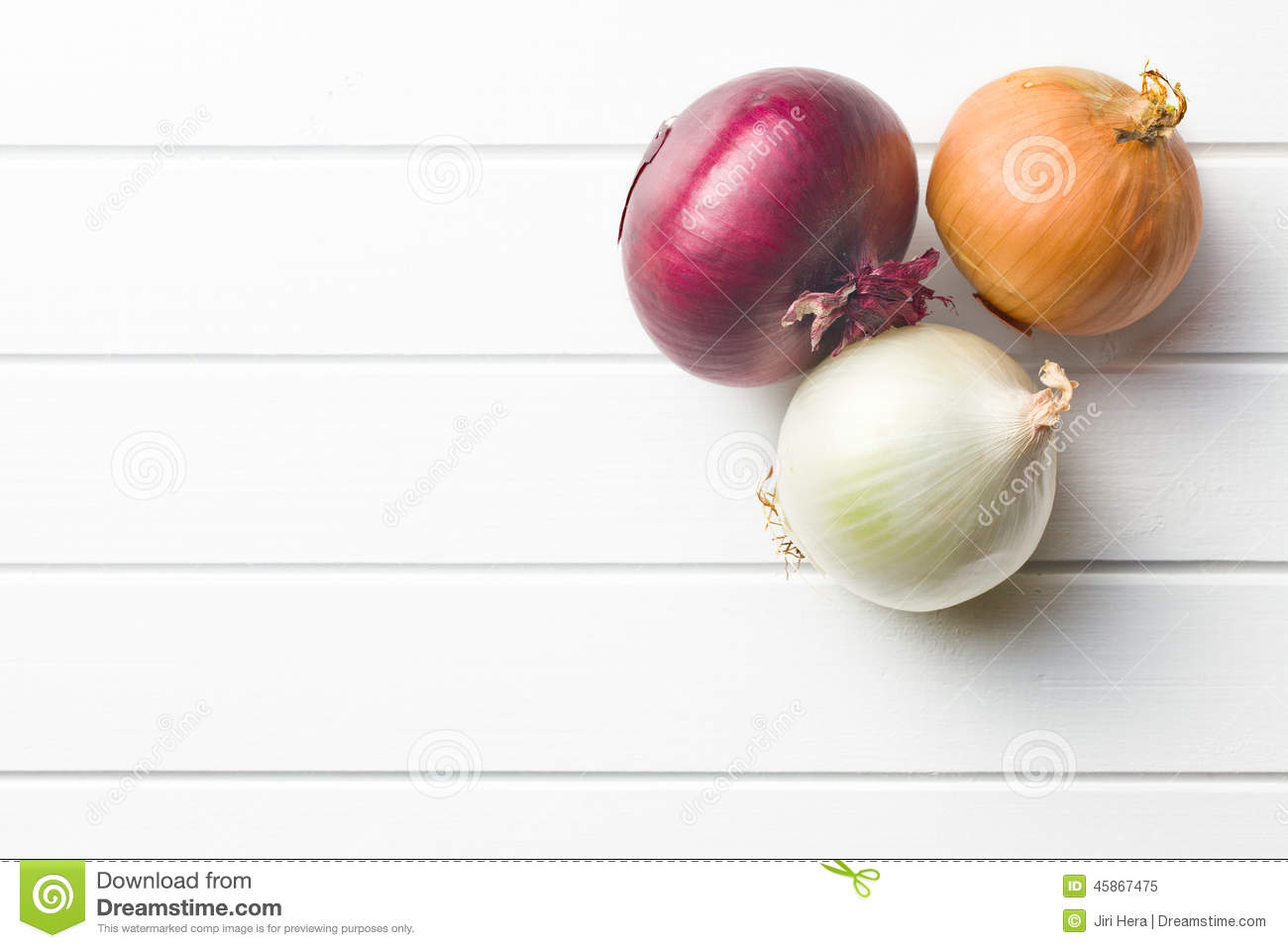 Various Onions Stock Photo  Image 45867475
