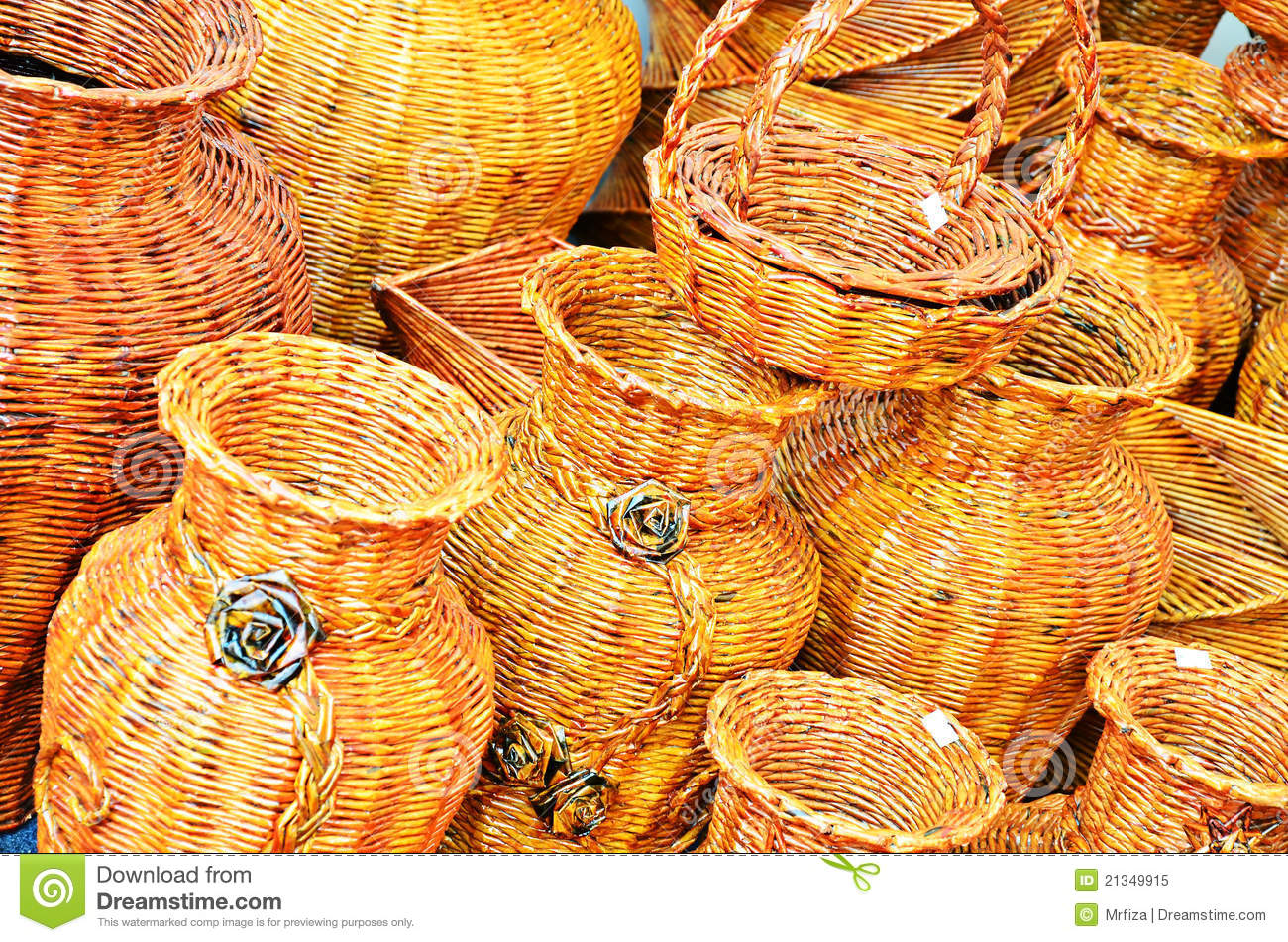 Various Shaped Hand Craft Work Royalty Free Stock Photo