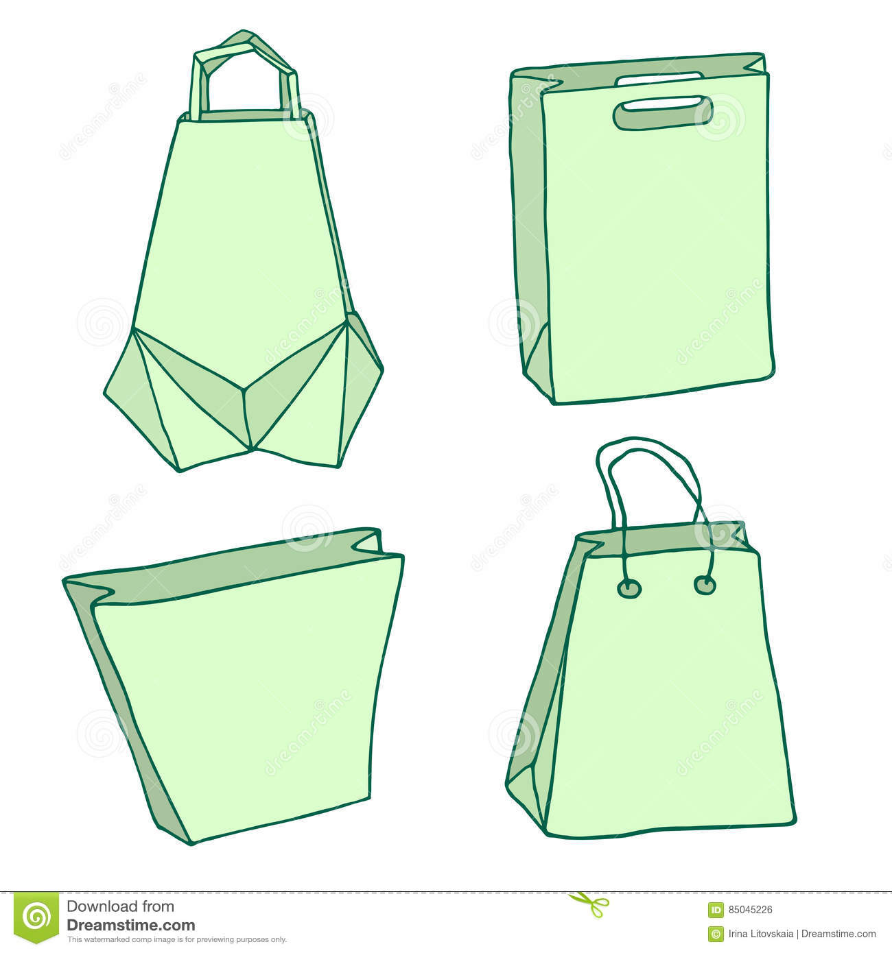 Various Shopping Bags Handbags Carriers Innovative Origami Bag