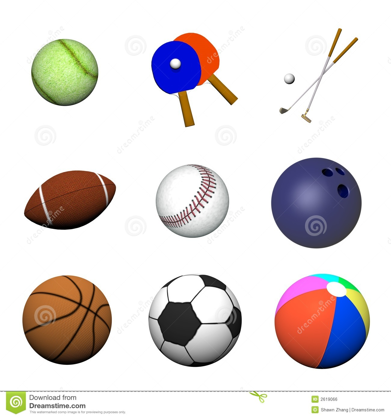 all sports balls related - photo #41