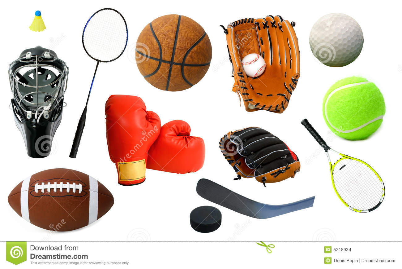 various sports items stock photo image of items hockey clip art free pittsburgh penguins ice hockey clipart free