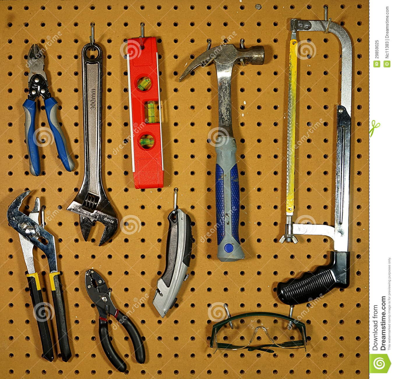 Uncategorized How To Hang Tools On A Pegboard tools pegboard stock images 97 photos hanging royalty free photo