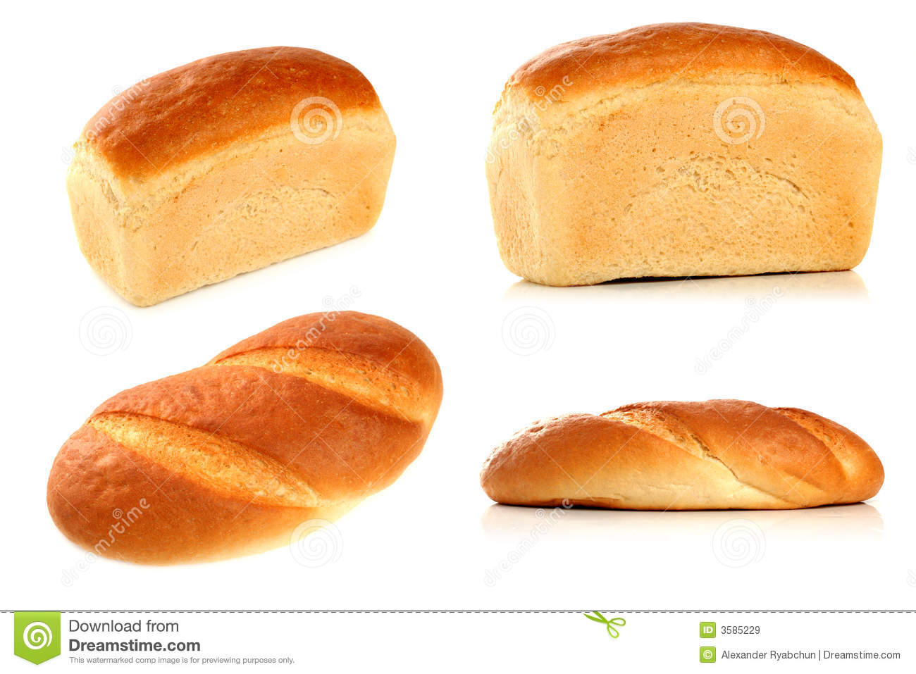 Various Types Of Bread Royalty Free Stock Images - Image: 3585229