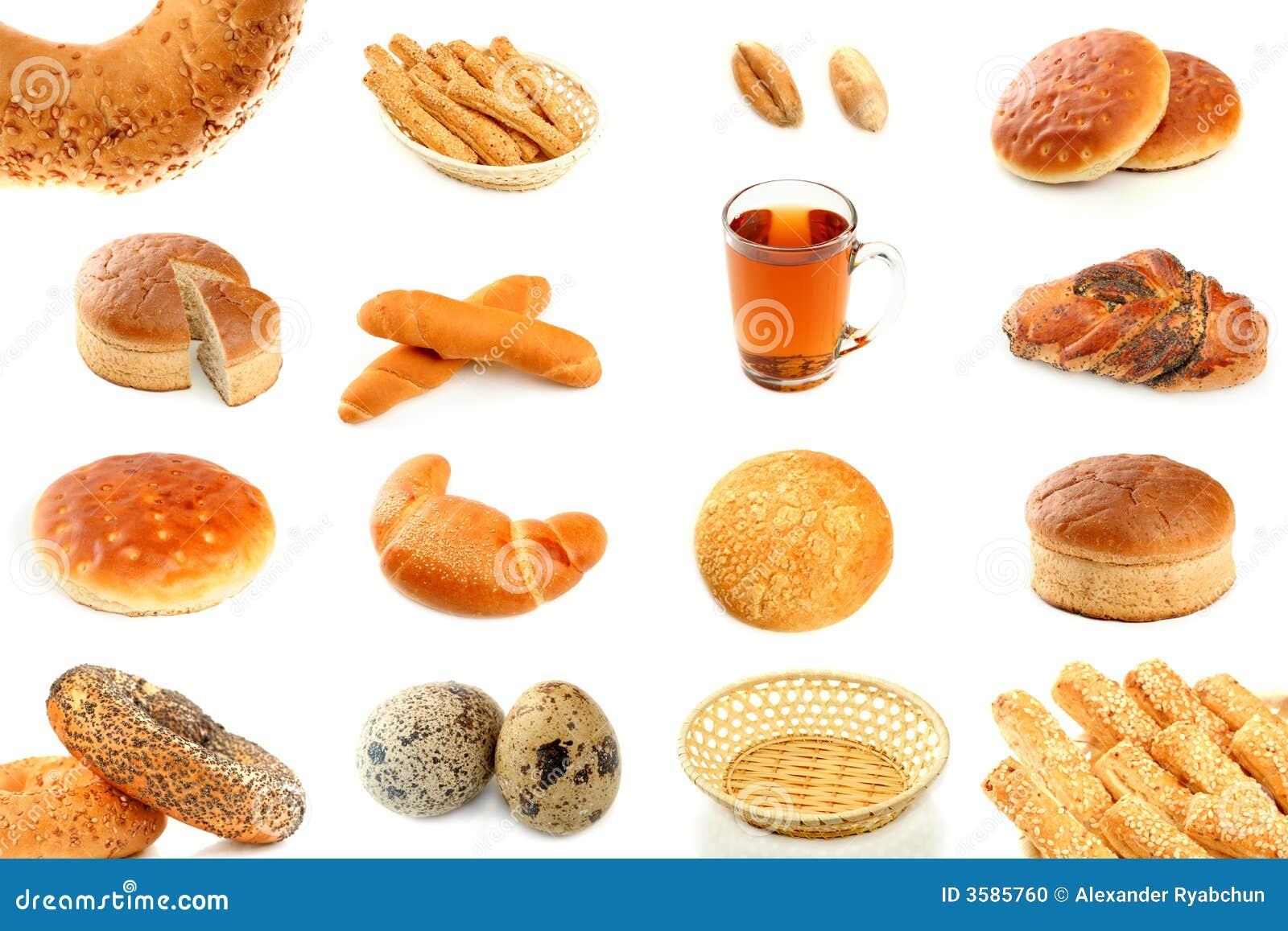 Хлеб и ее продукции в схеме