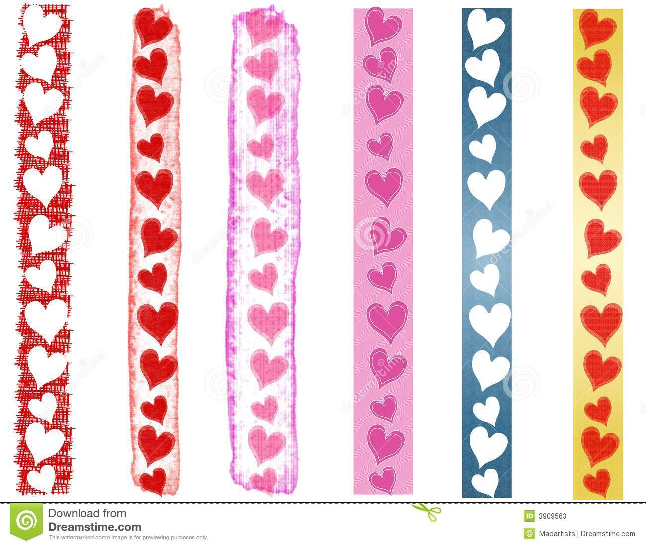 Valentines Day Clip Art Borders Images & Pictures - Becuo