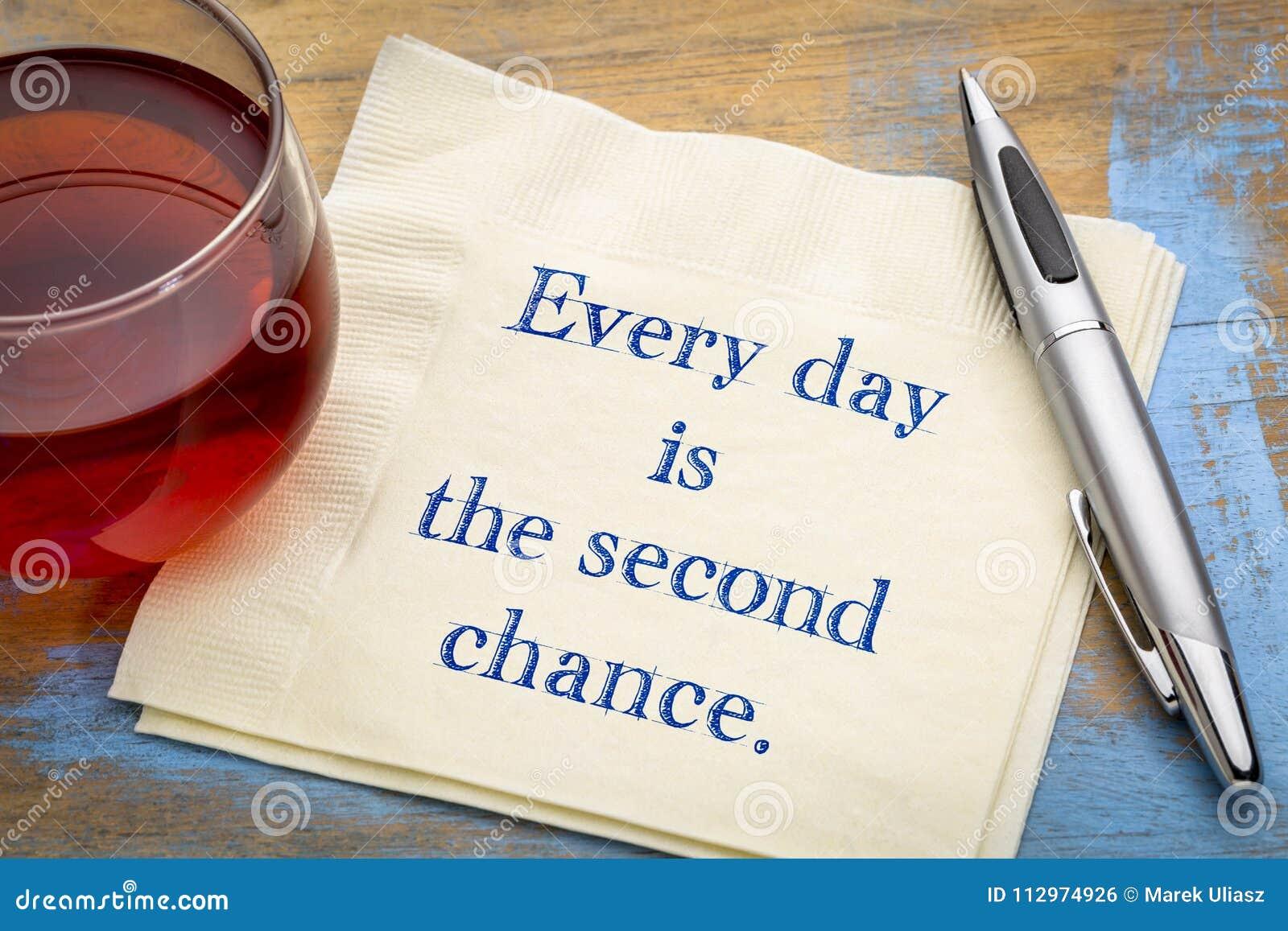 Varje dag är den andra möjligheten