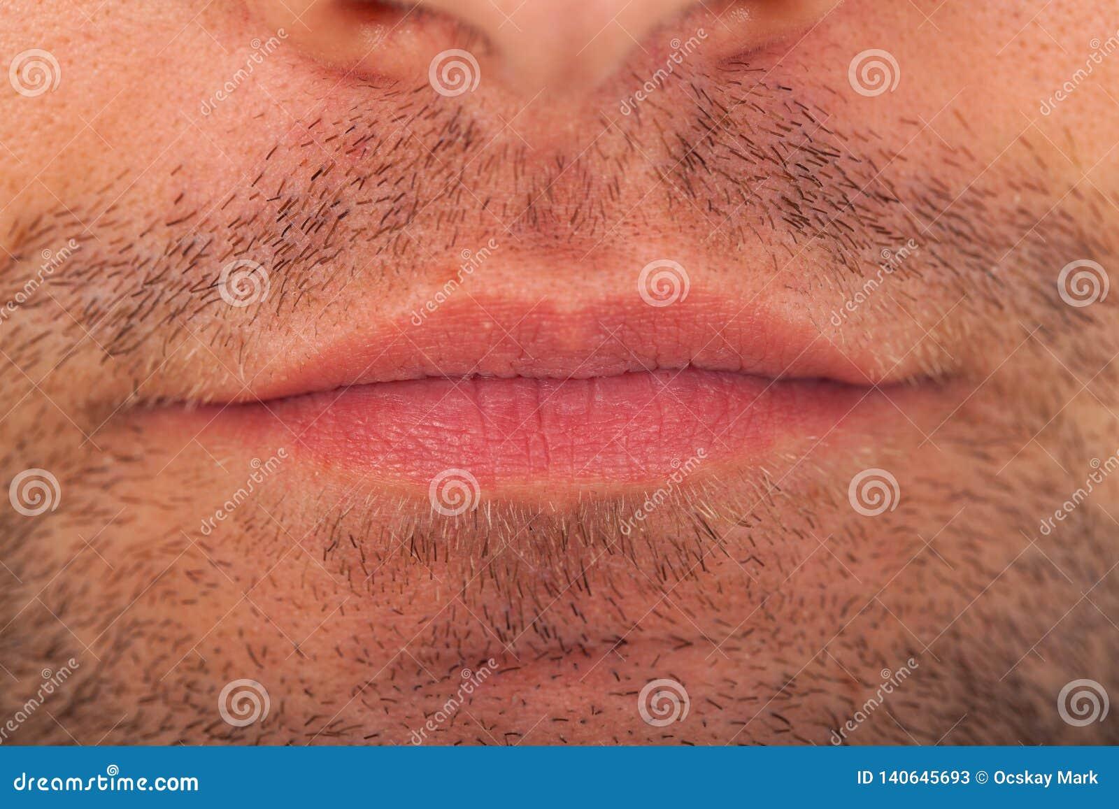 Varkenshaar en mondmacro