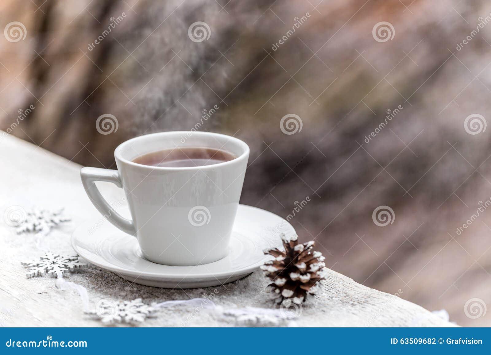 Varm drink i koppen