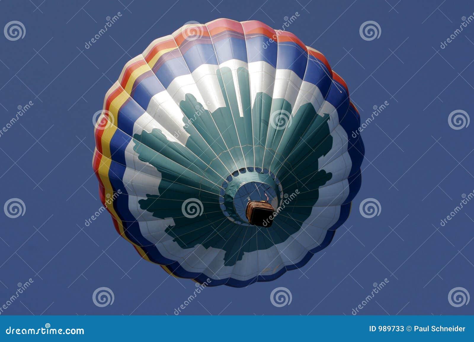 Varm sky ss159 för luftballong