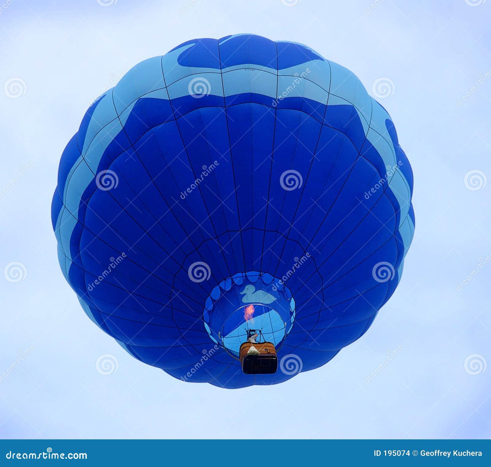 Varm stigning för luftballong