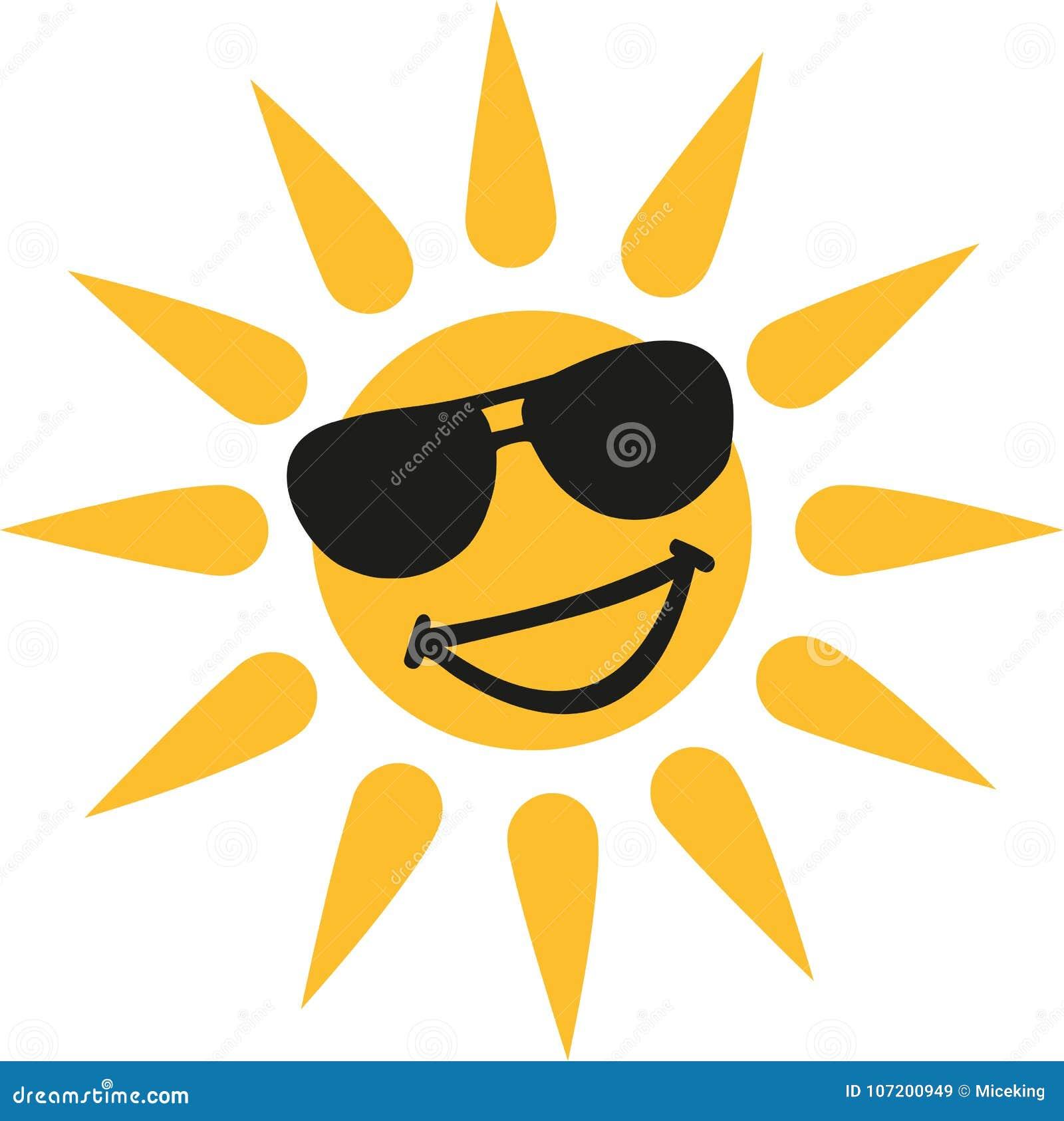 Varmt väder - le solen med solexponeringsglas