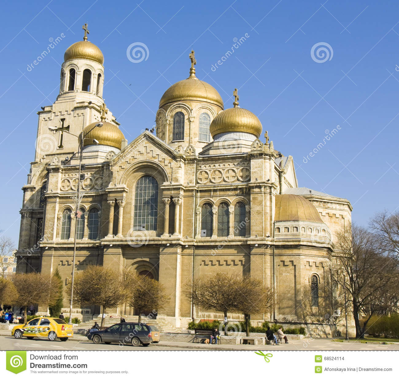 Varna Bulgaria Cathedral Of Assumption The Virgin Mary