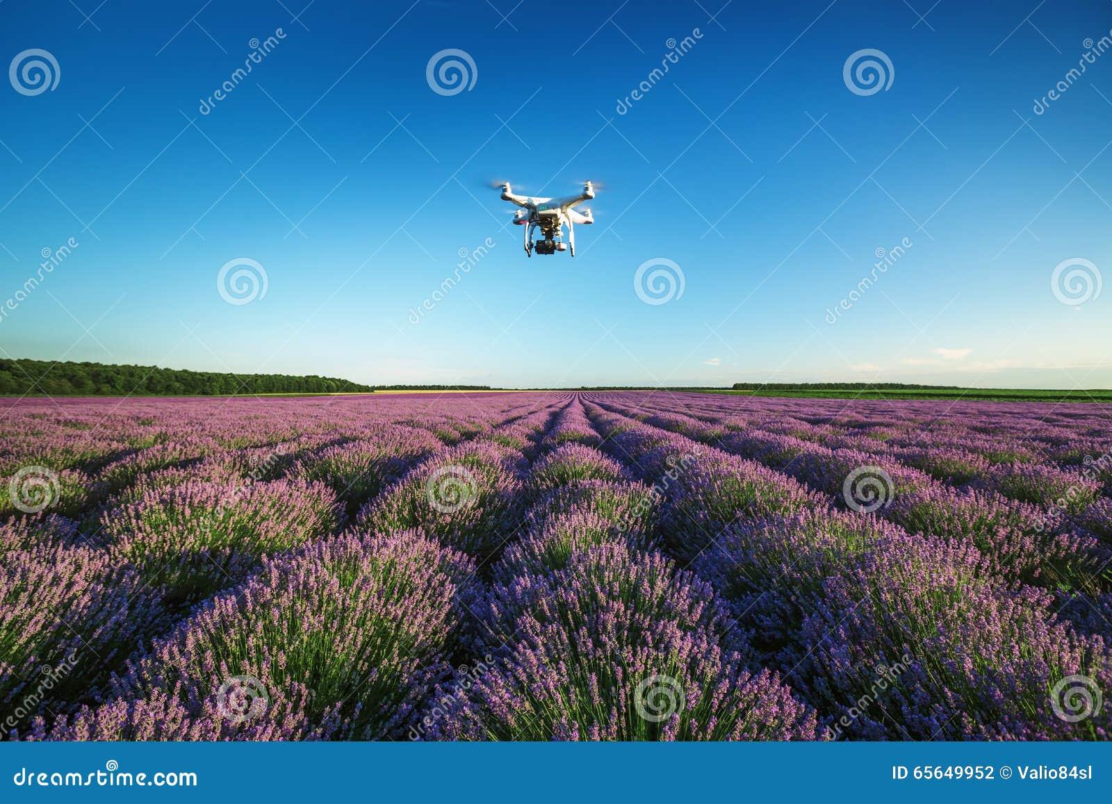 Varna, Bulgarie - 22 juin 2015 : Quadcopter Dji pH de bourdon de vol
