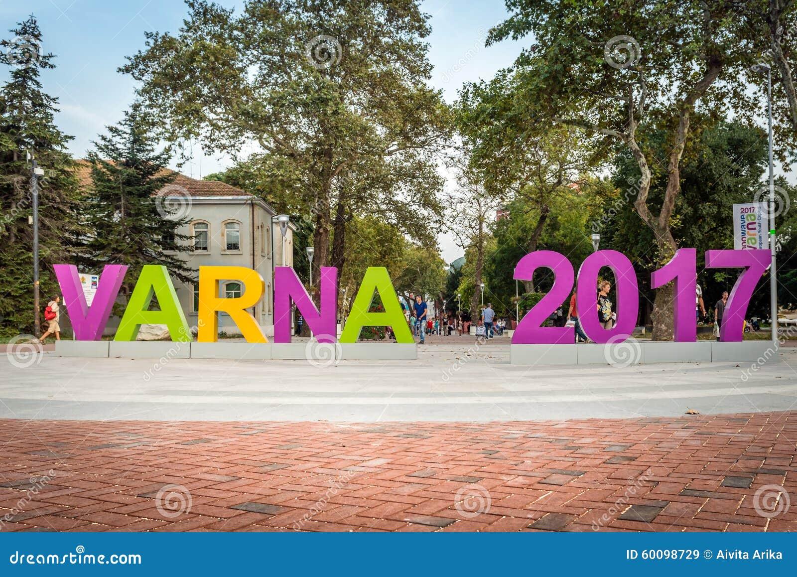 Varna in Bulgarien ist die 2017 Europäer-Jugend-Kapital