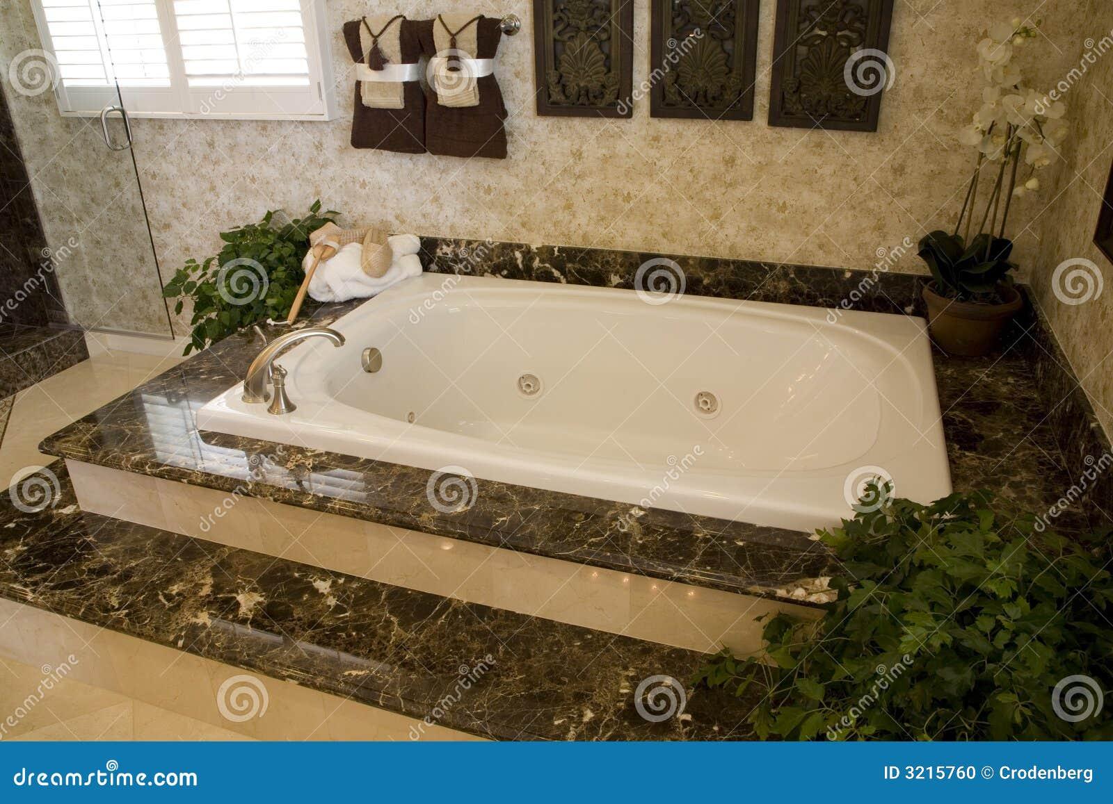 Vasca da bagno 1649 fotografia stock immagine di interno - Vasca da bagno libera installazione ...