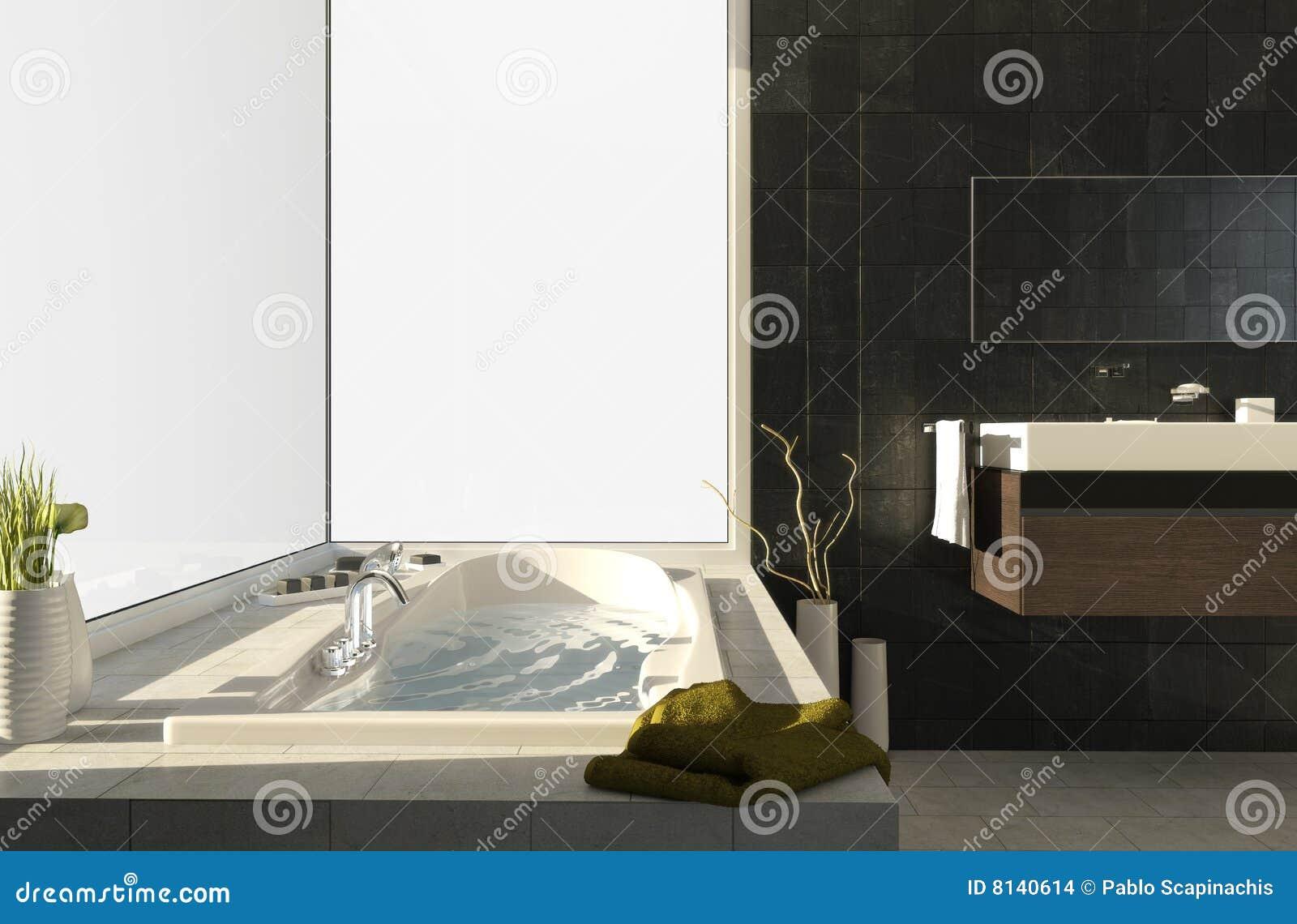 Vasca da bagno con le viste 2