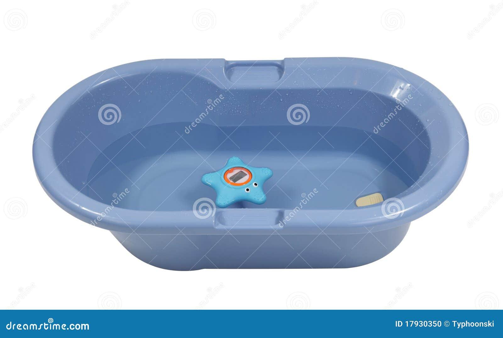 Vasca Da Bagno Bambini : Vasca da bagno del bambino blu fotografia stock immagine di