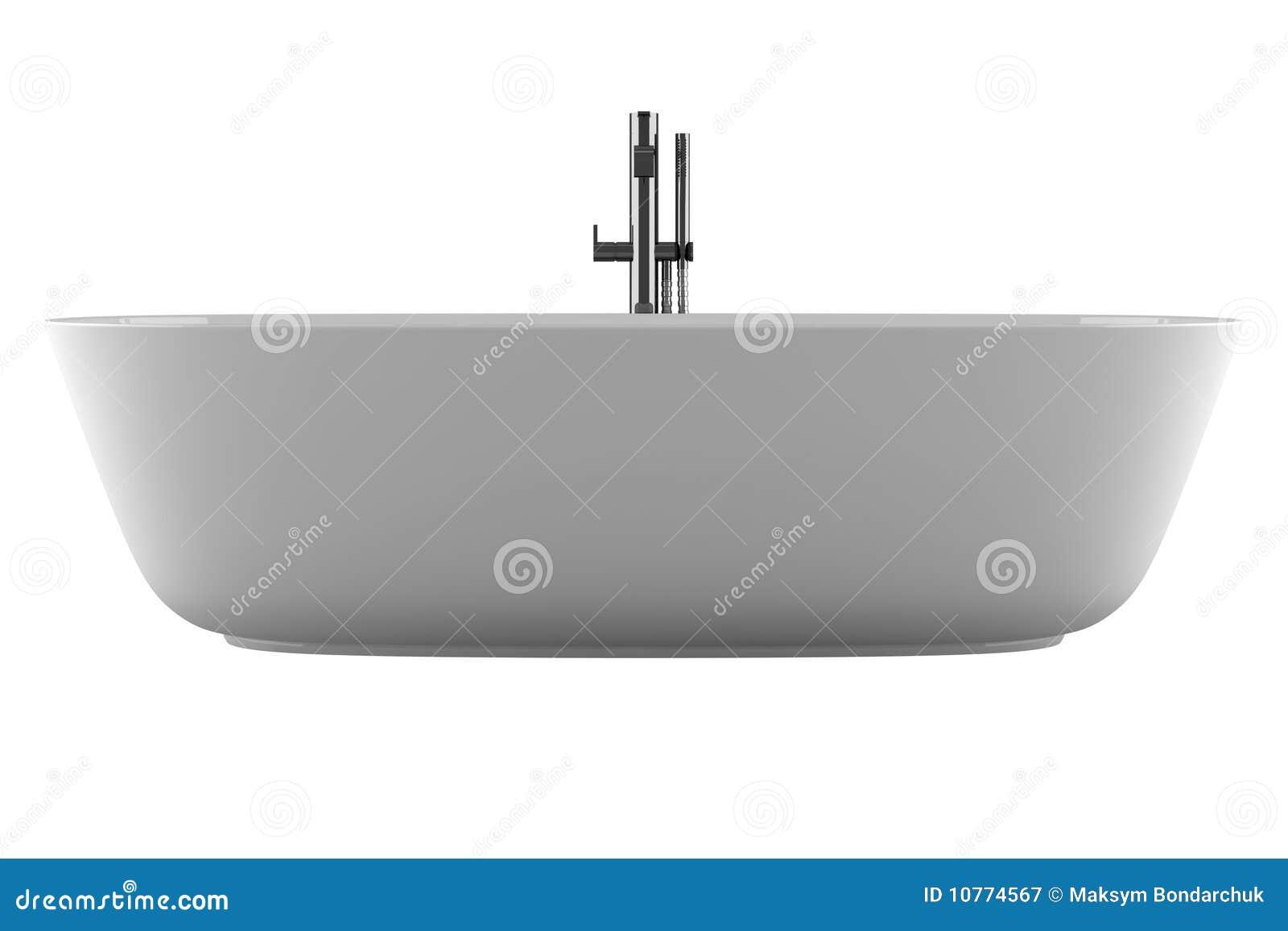 Vasca Da Bagno Bassa : Vasca da bagno isolata su priorità bassa bianca illustrazione di