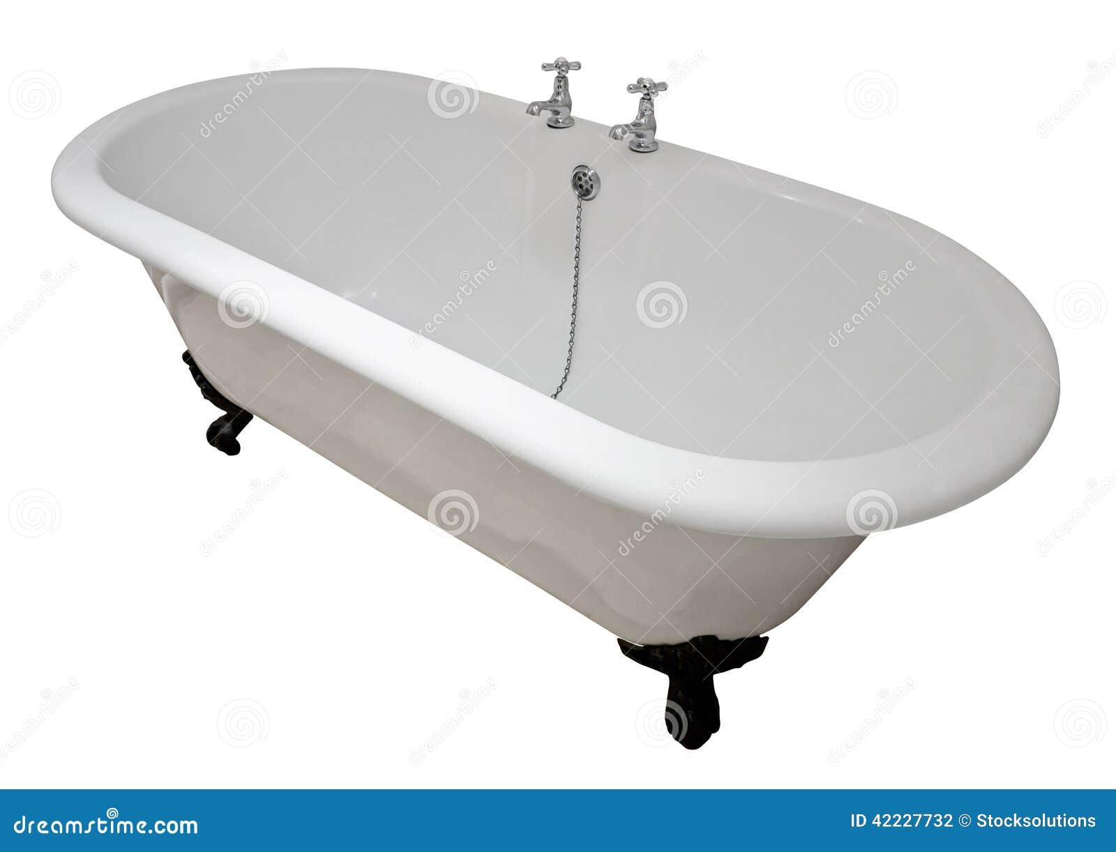 Vasca da bagno vittoriana della cima di rotolo