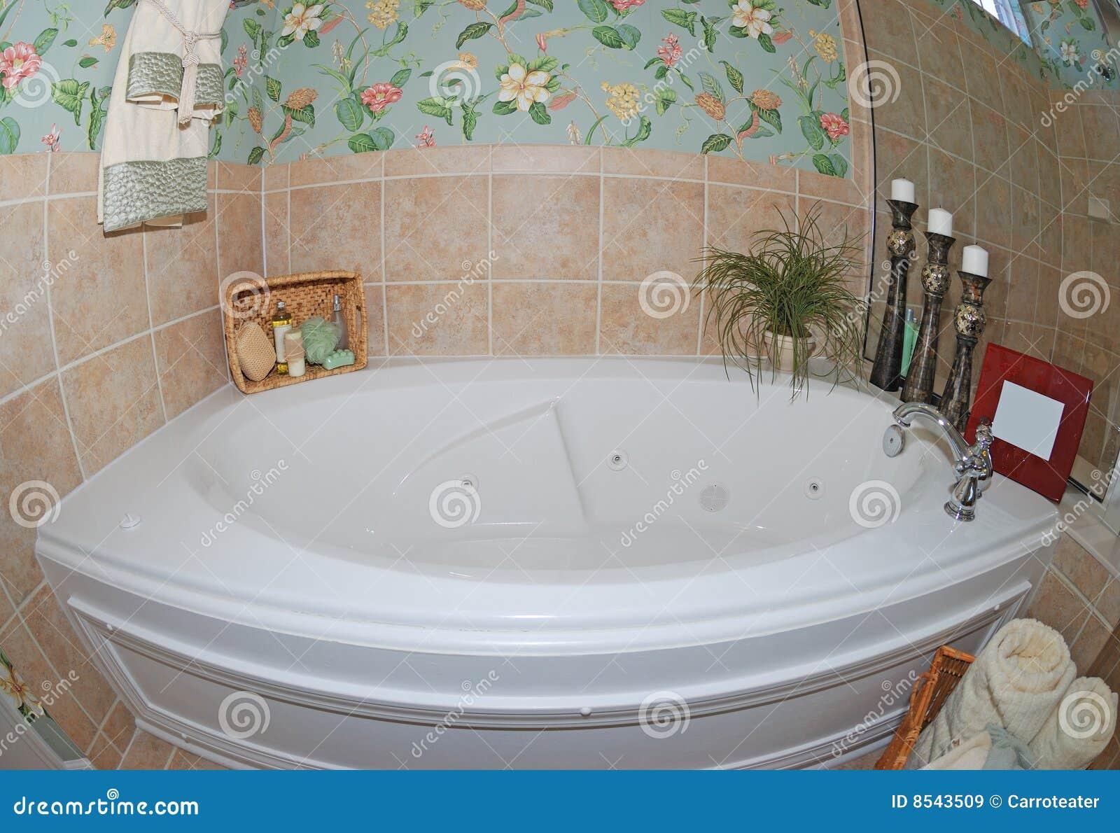Vasca di bagno immagine stock. immagine di lusso bagno 8543509