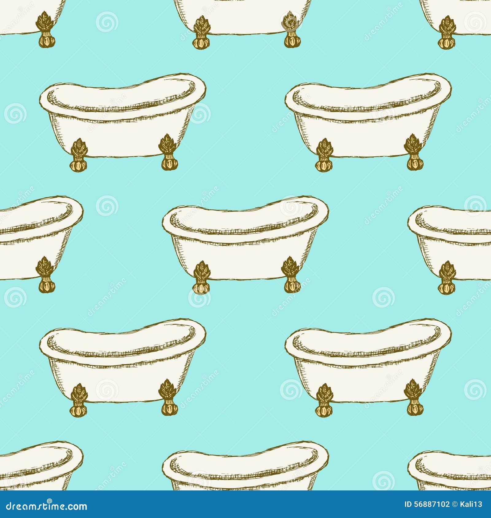Vasca di schizzo nello stile d annata
