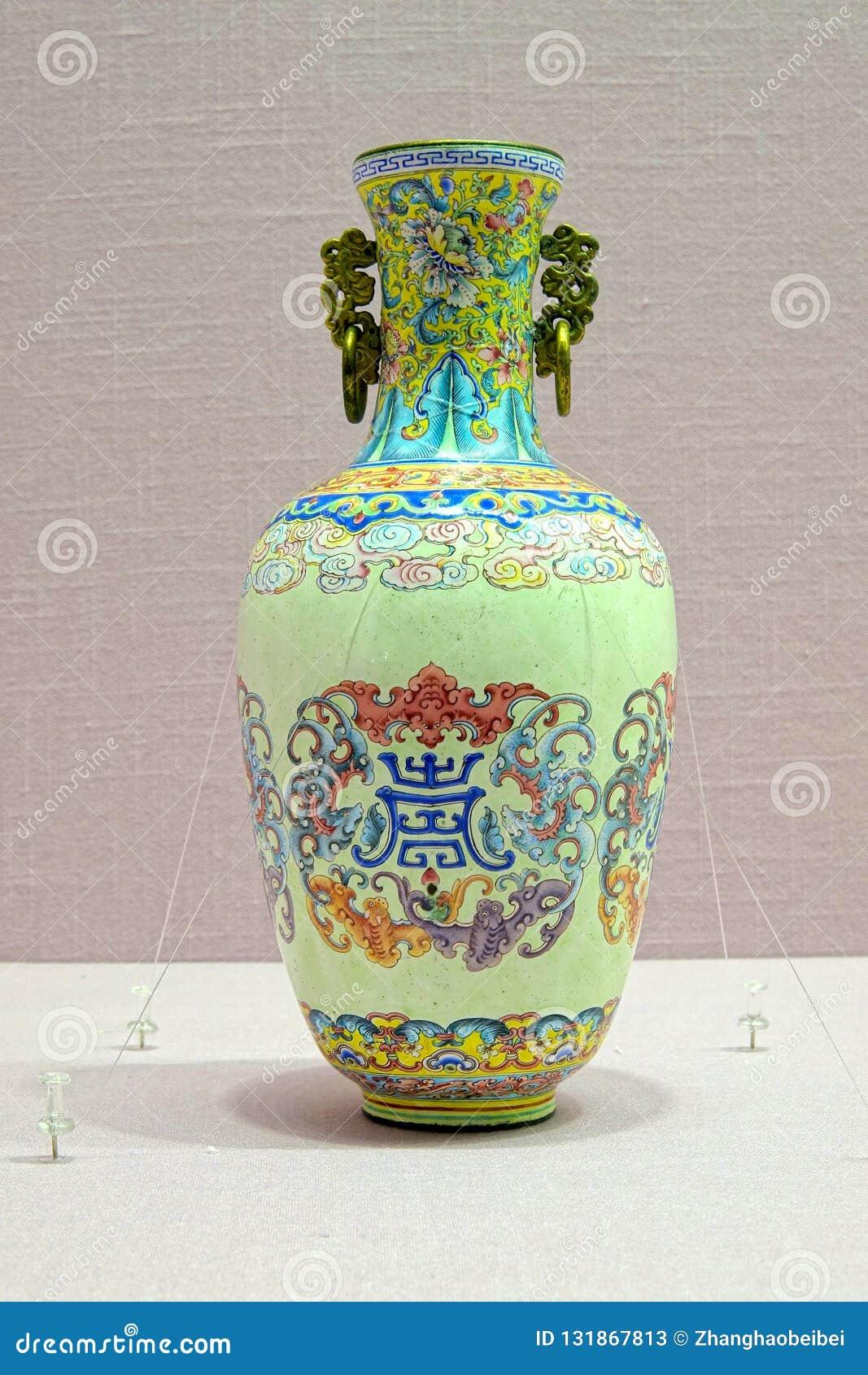 Vase impérial à porcelaine