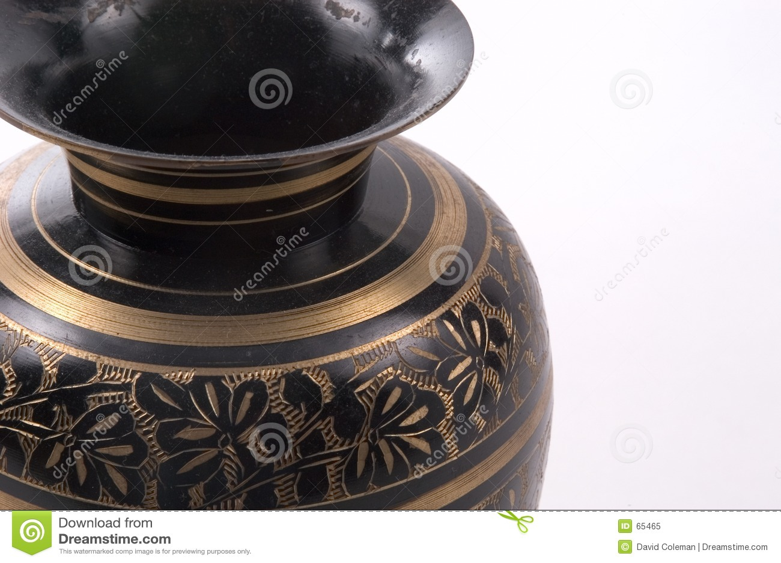 Vase indien