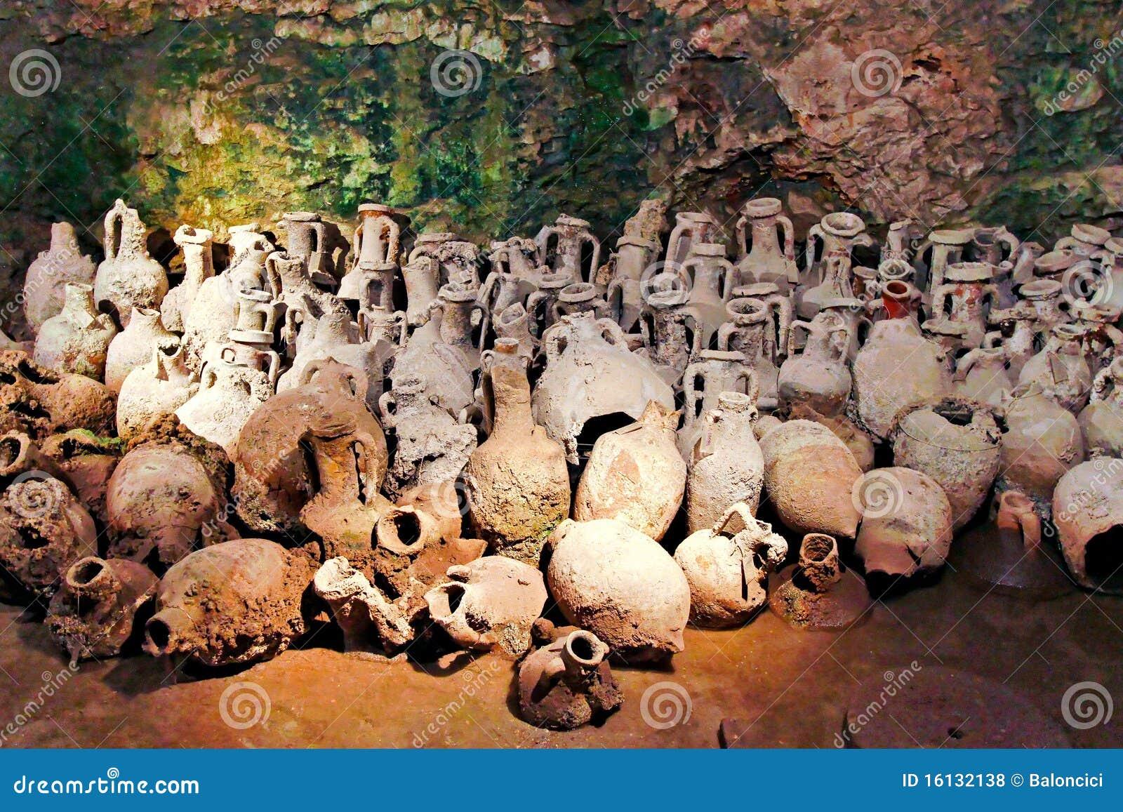 Vasi romani fotografie stock libere da diritti immagine for Vasi antichi romani