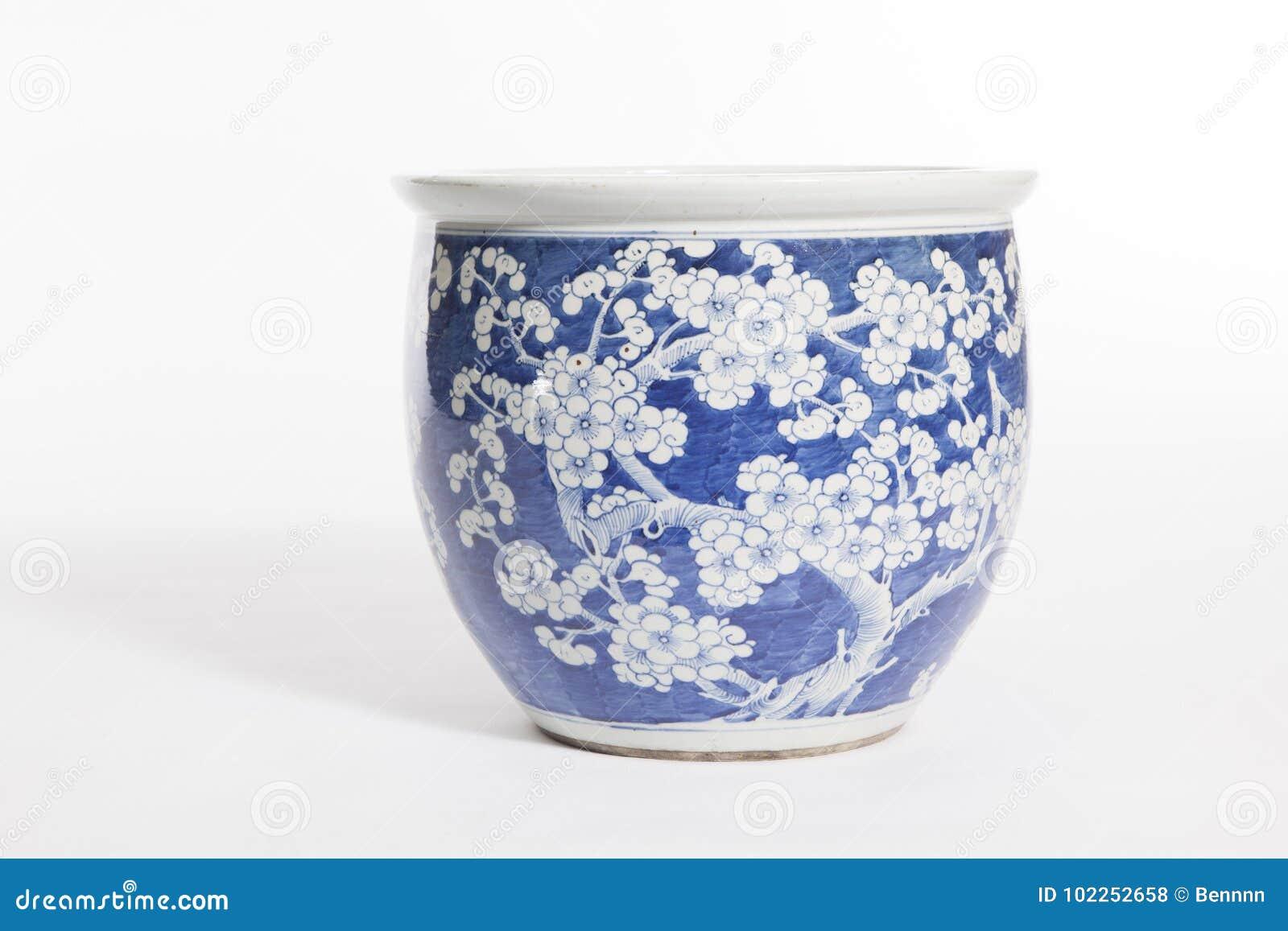 Vaso cerâmico da porcelana velha