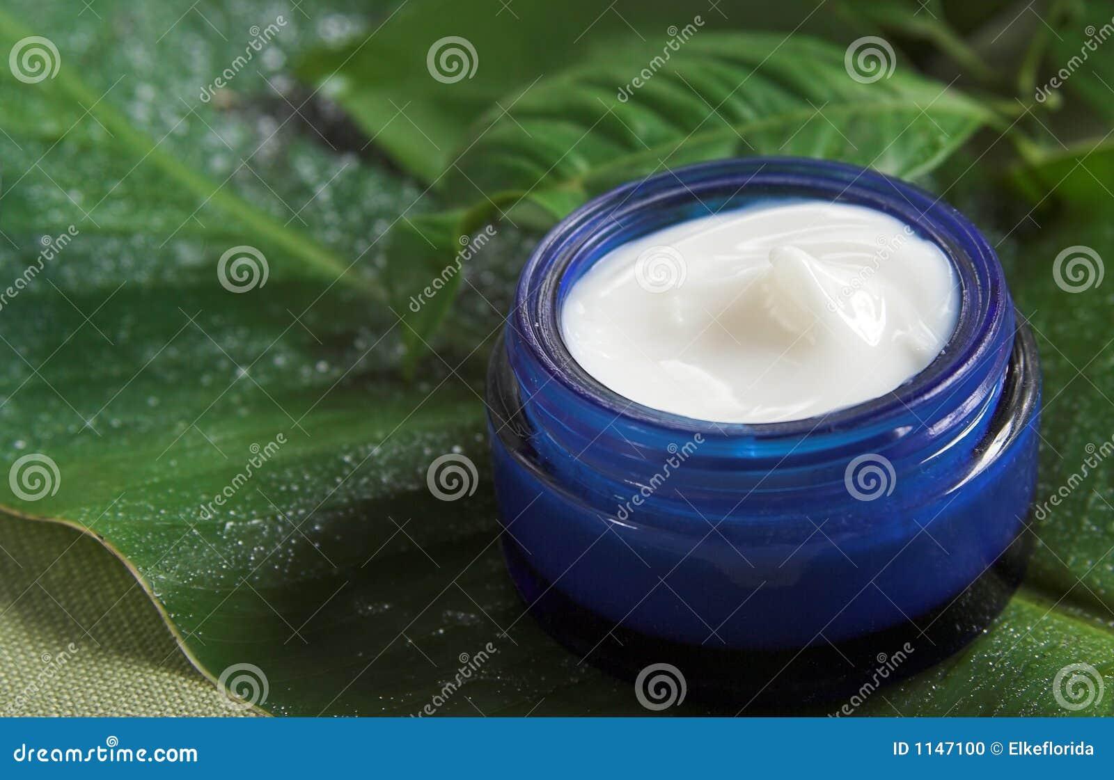 Vaso di crema facciale