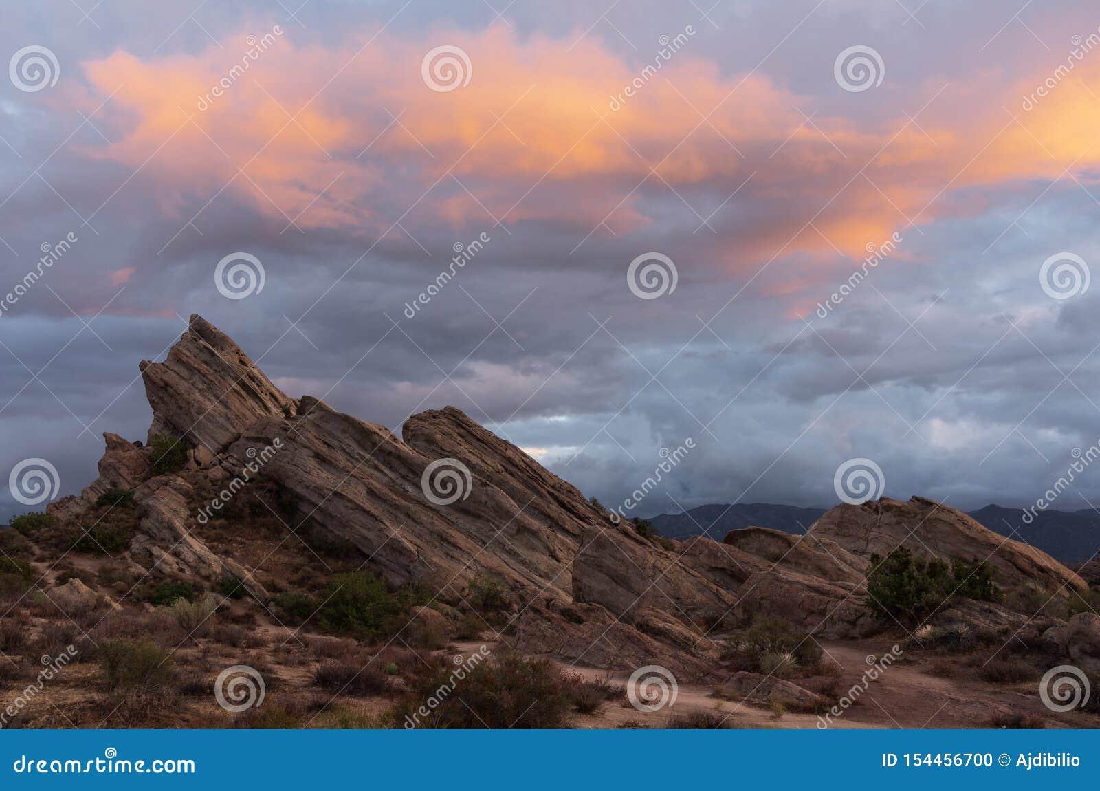Vasquez Rocks Natural Area Park in California.