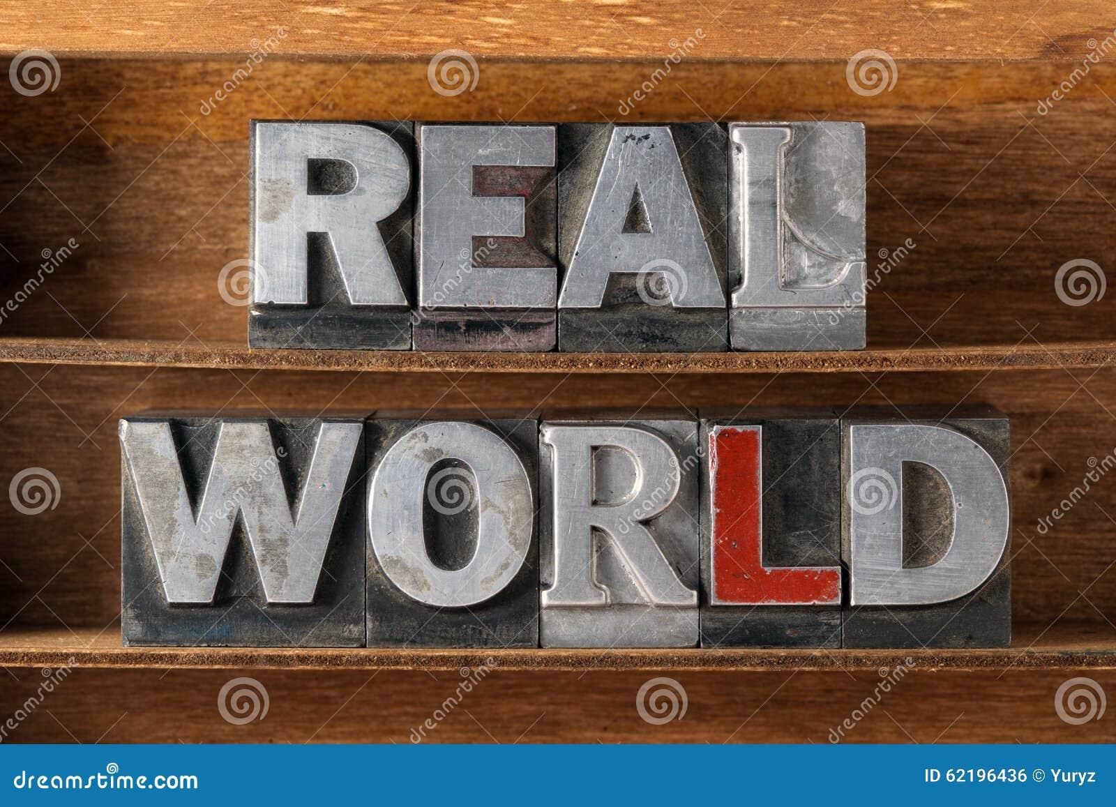 Vassoio del mondo reale