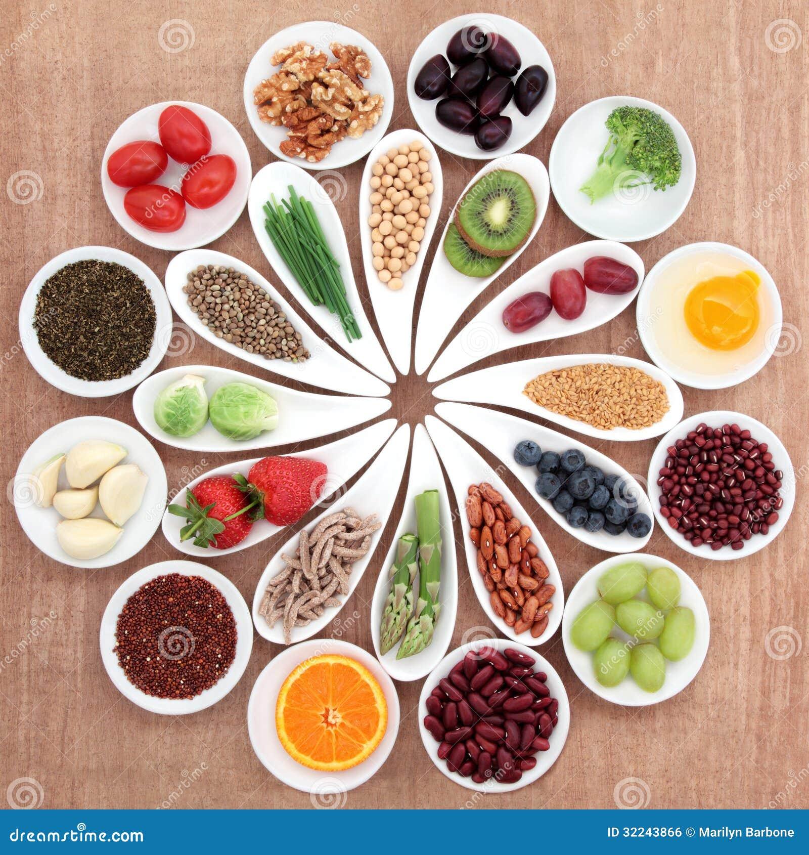 Vassoio dell alimento salutare
