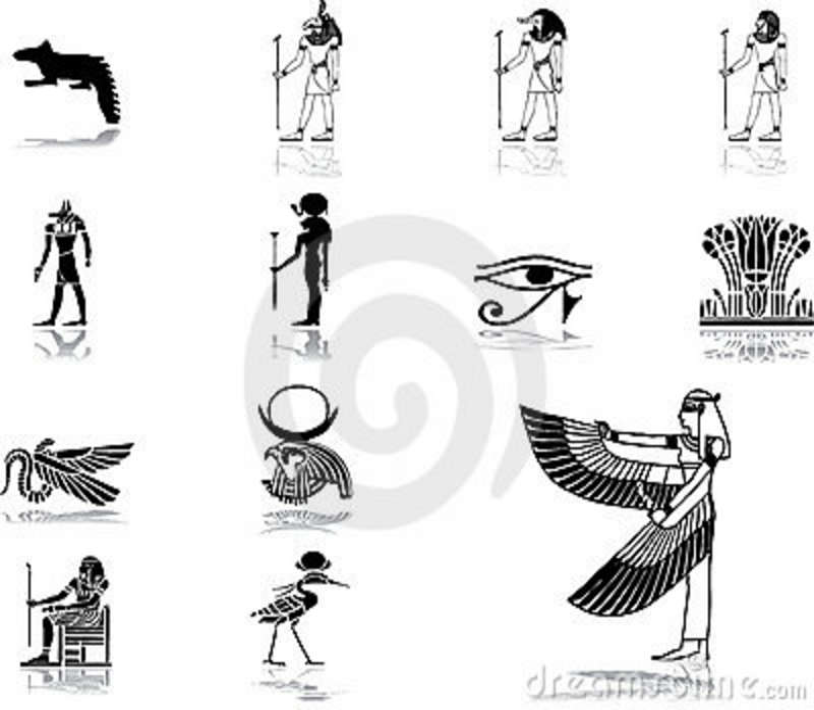 Vastgestelde pictogrammen - 50. Egypte