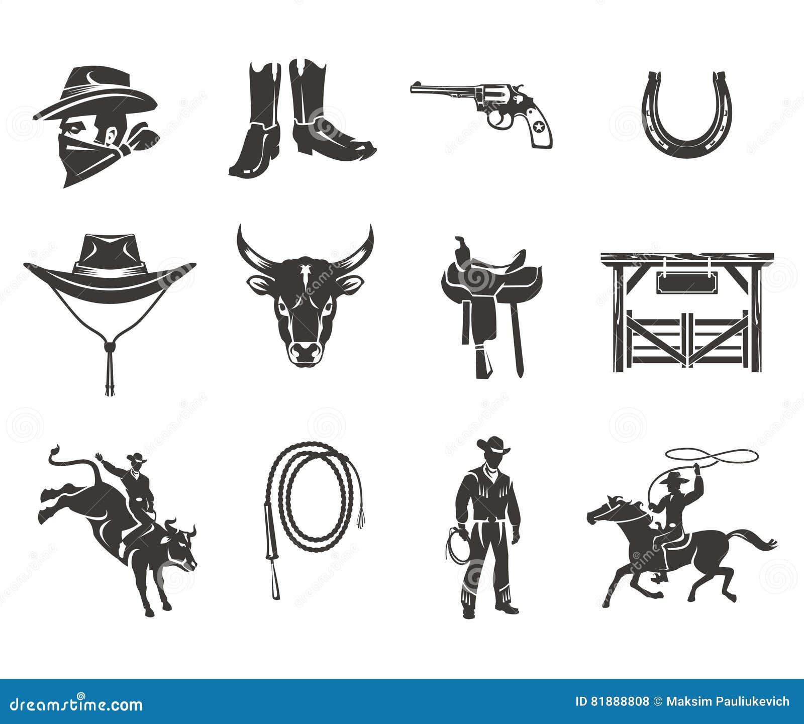 Vastgestelde rodeopictogrammen