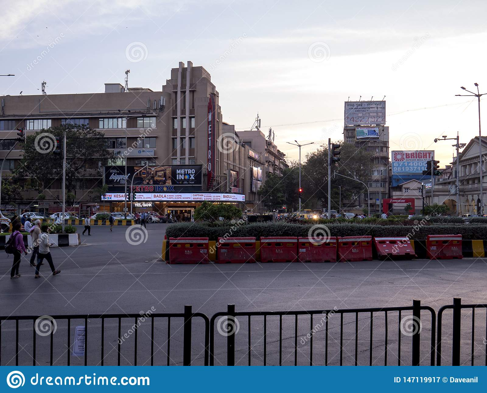 Vasudev Balwant Phadke Chowk opp aan metro Bioskoop, Dhobitalao Azad Maidan, Marine Lines
