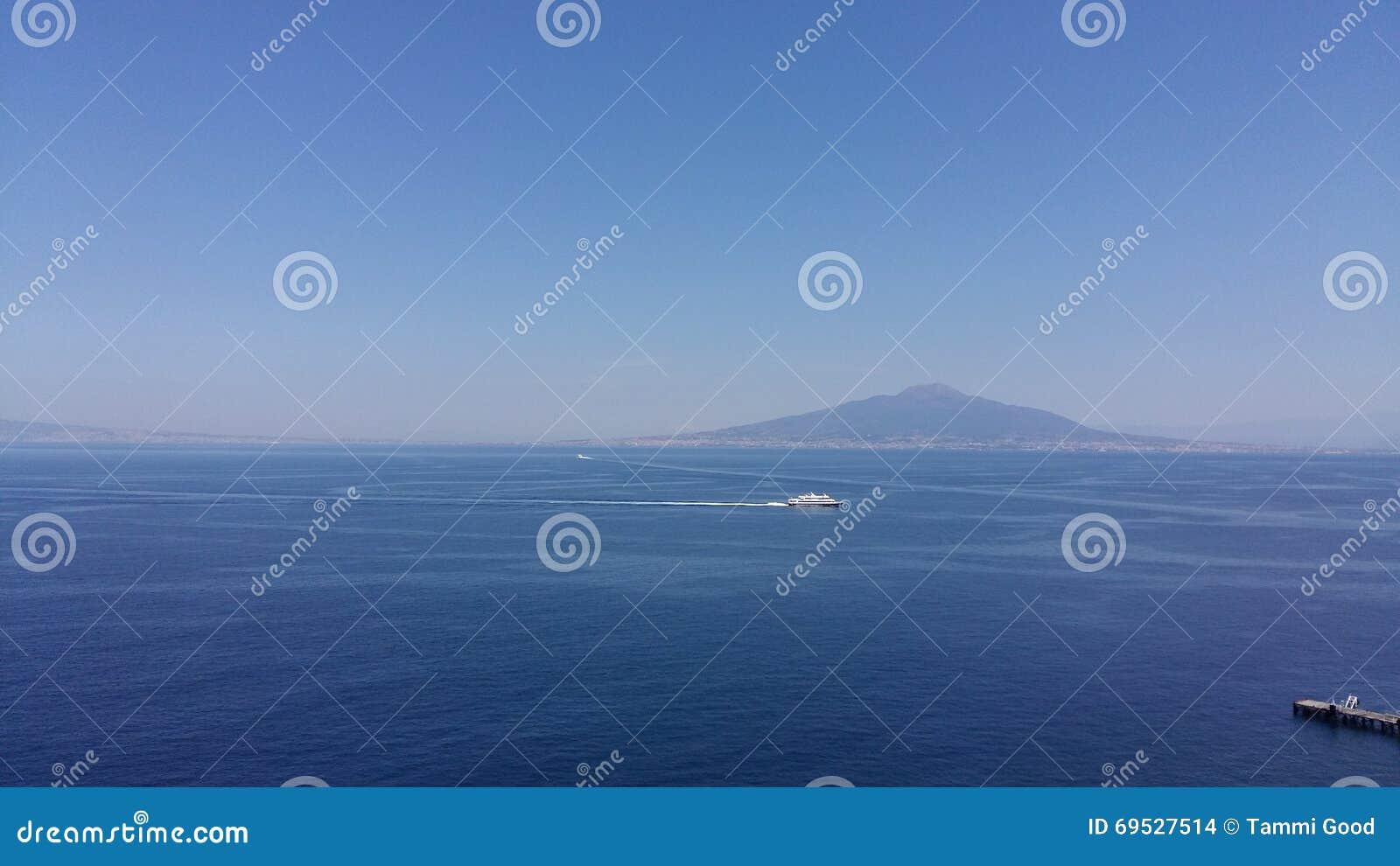 Vasuviouse Ιταλία από το serrento