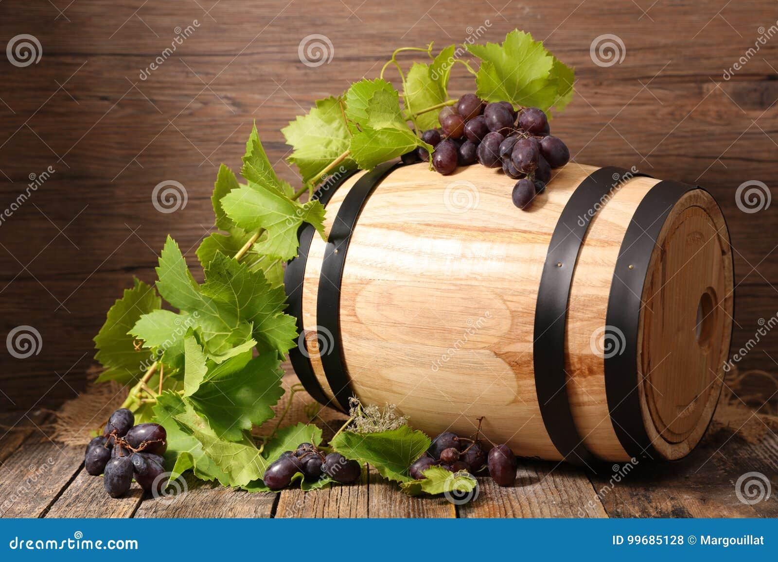 Vat met druif