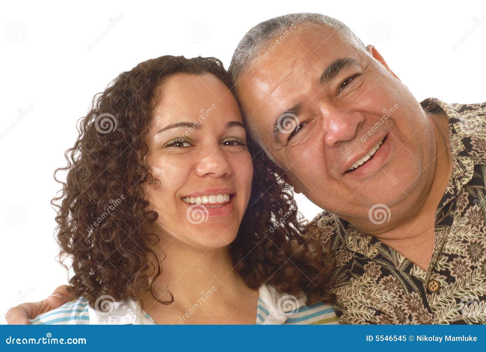 Vati mit seiner Tochter