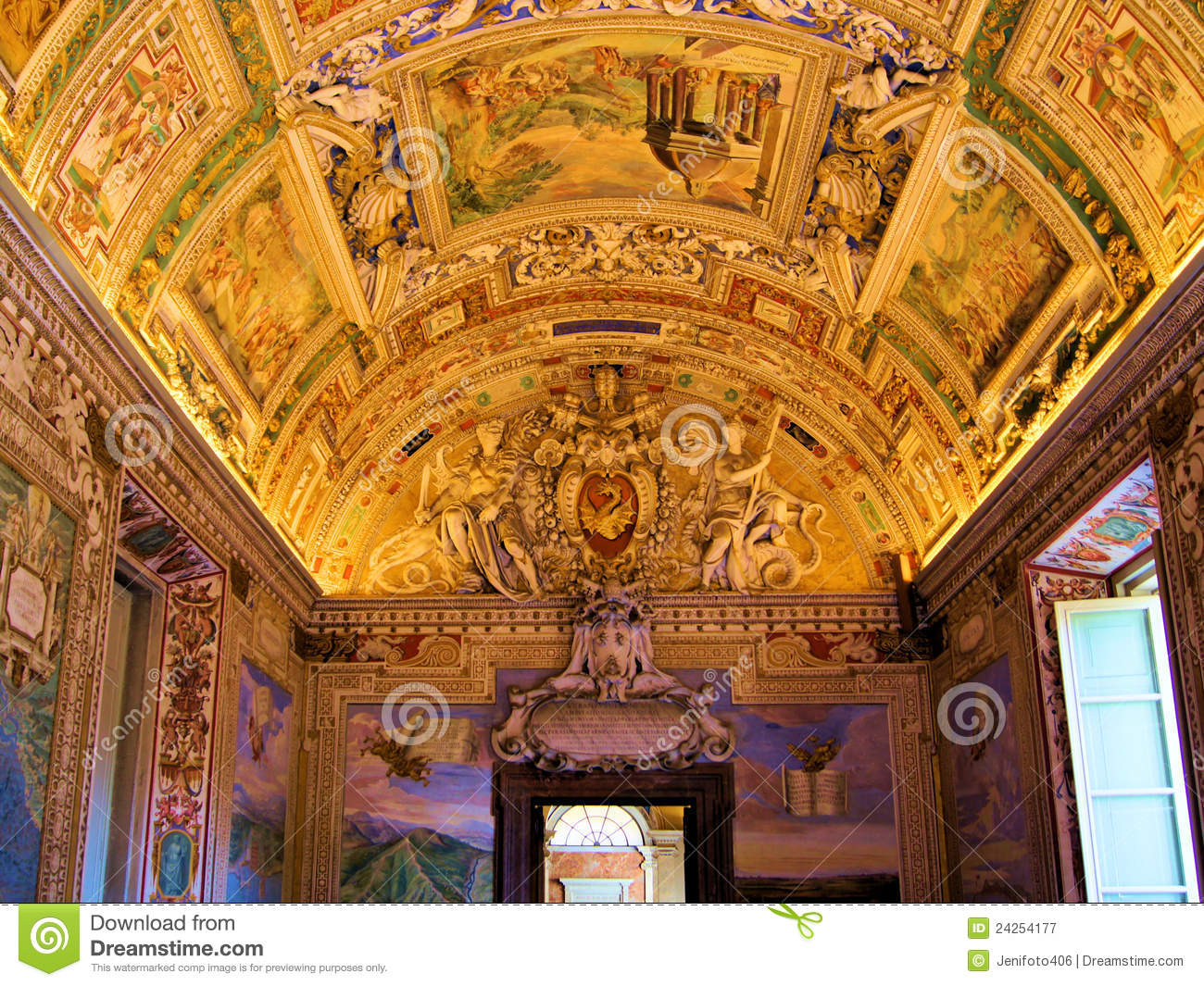Vatican Art Royalty Free Stock Photography - Image: 24254177