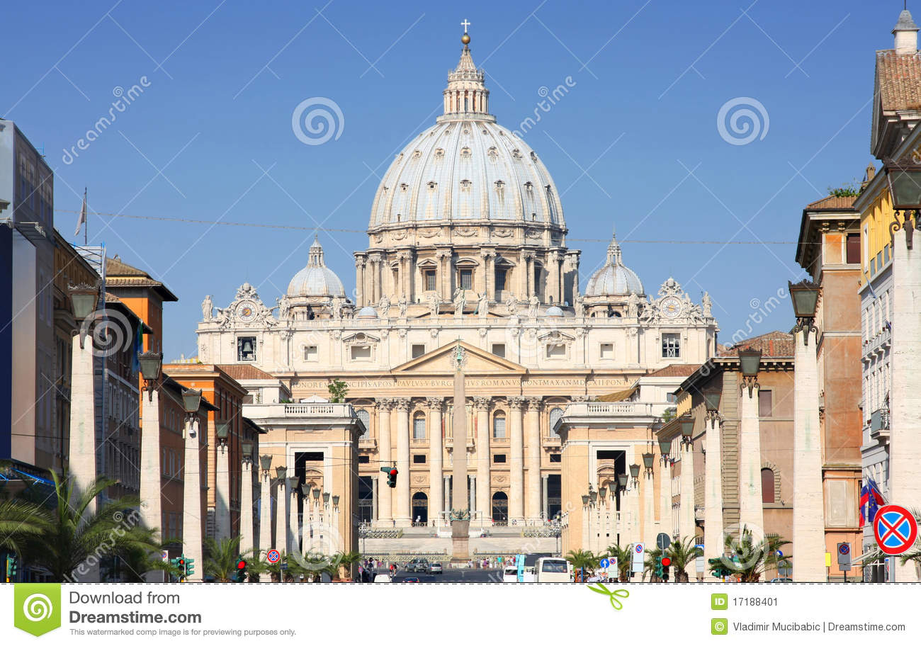 Vatican city rome italy stock image image 17188401