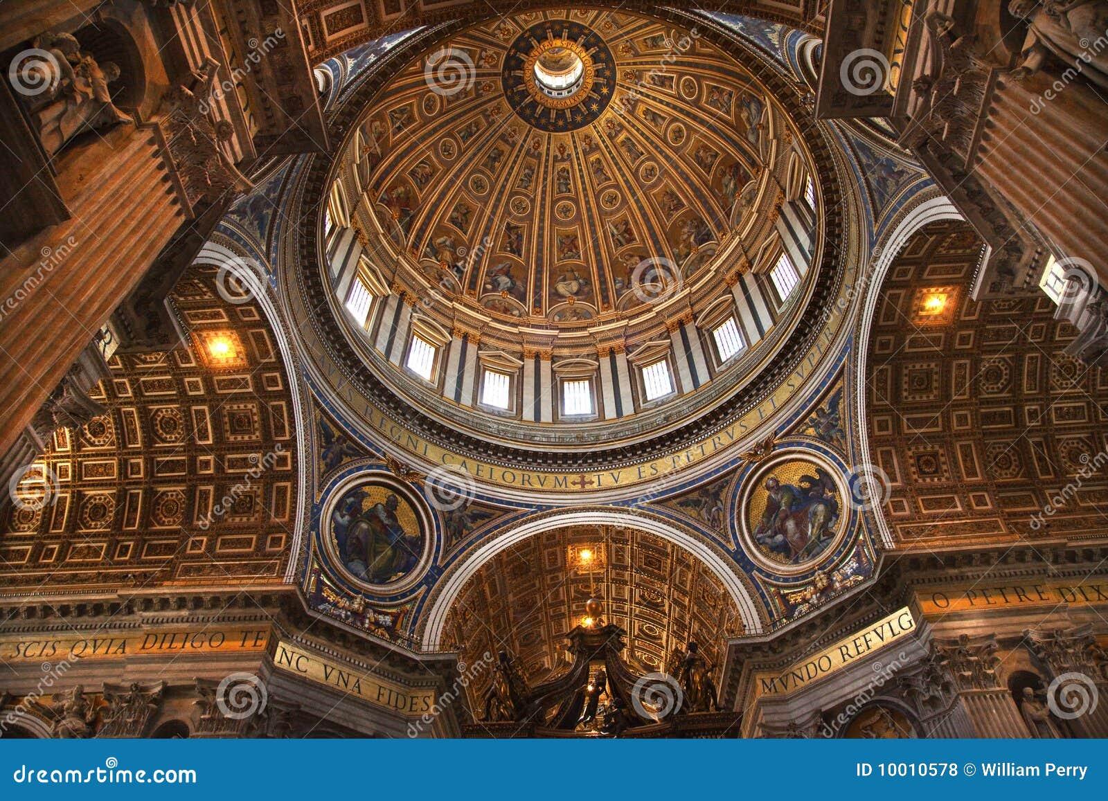Vatican Inside Michelangelo s Dome Rome