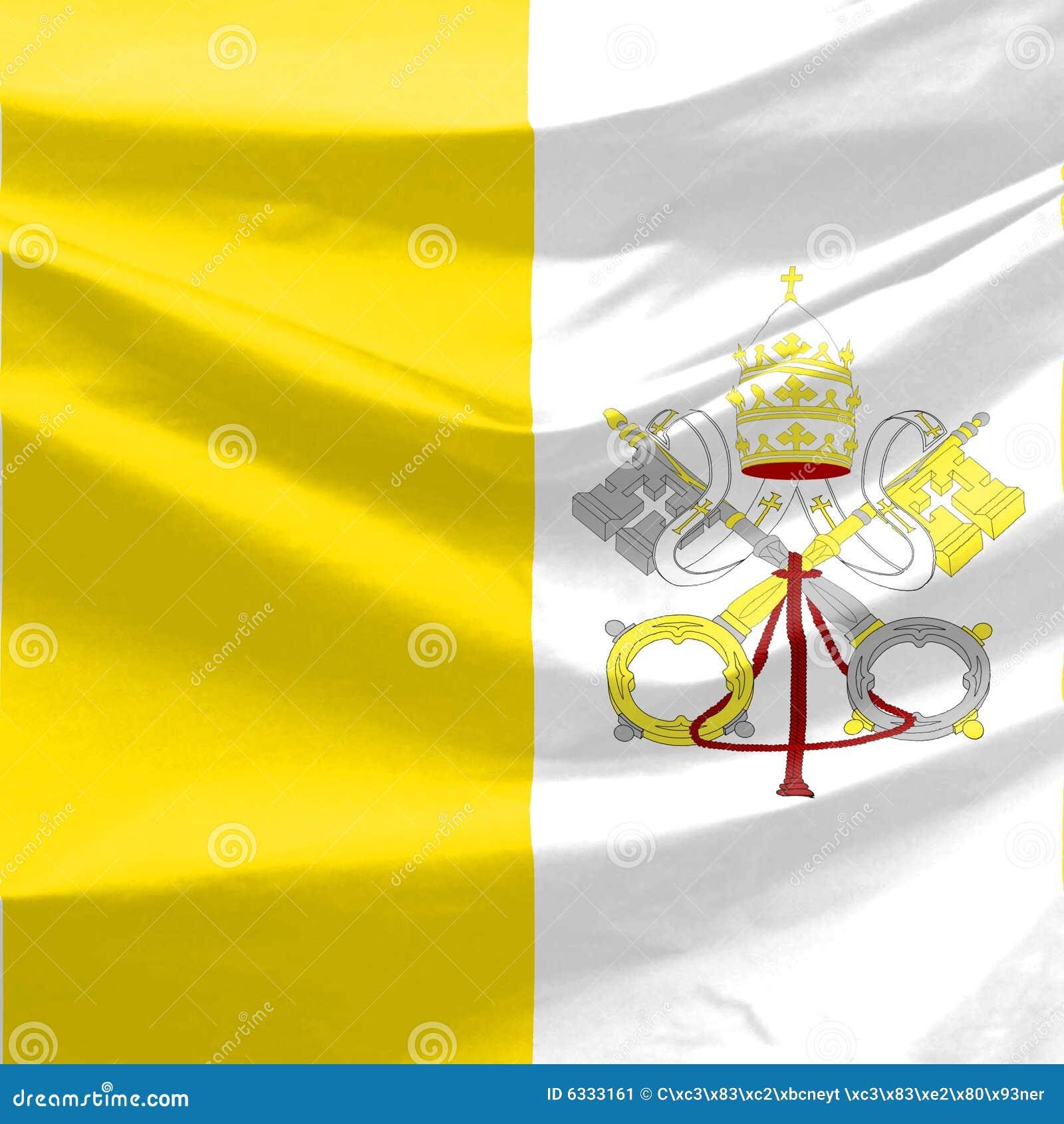 Vatican-Markierungsfahne