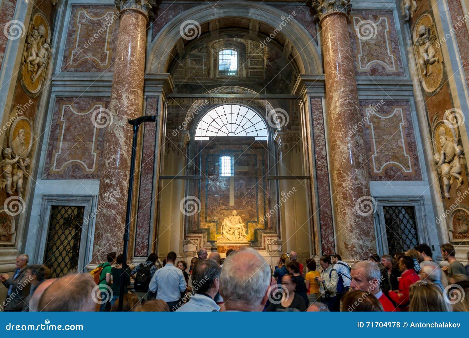 Vatican Saint Peter Basilica Inside