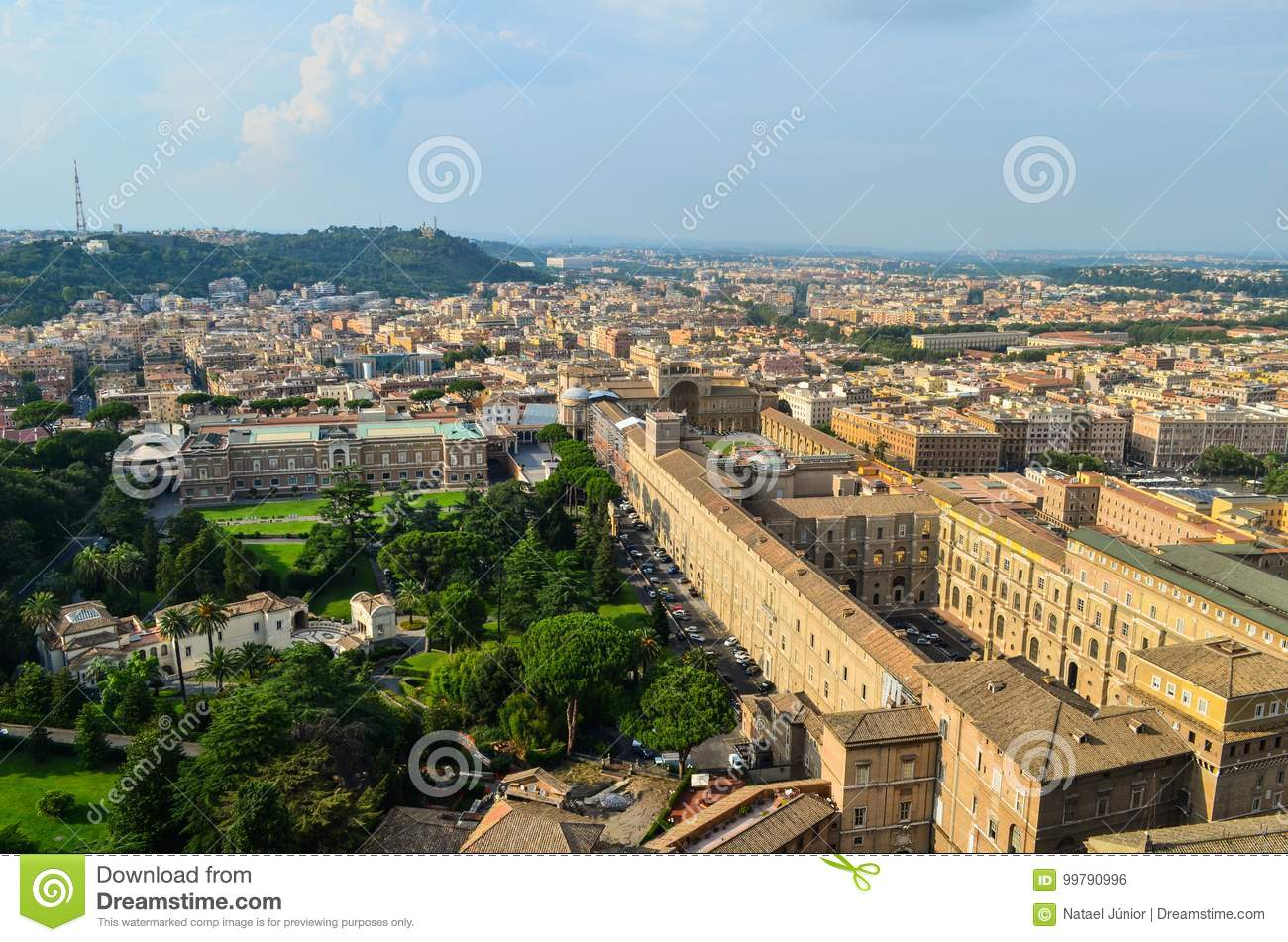 Vatican stock photo  Image of building, most, courtyard