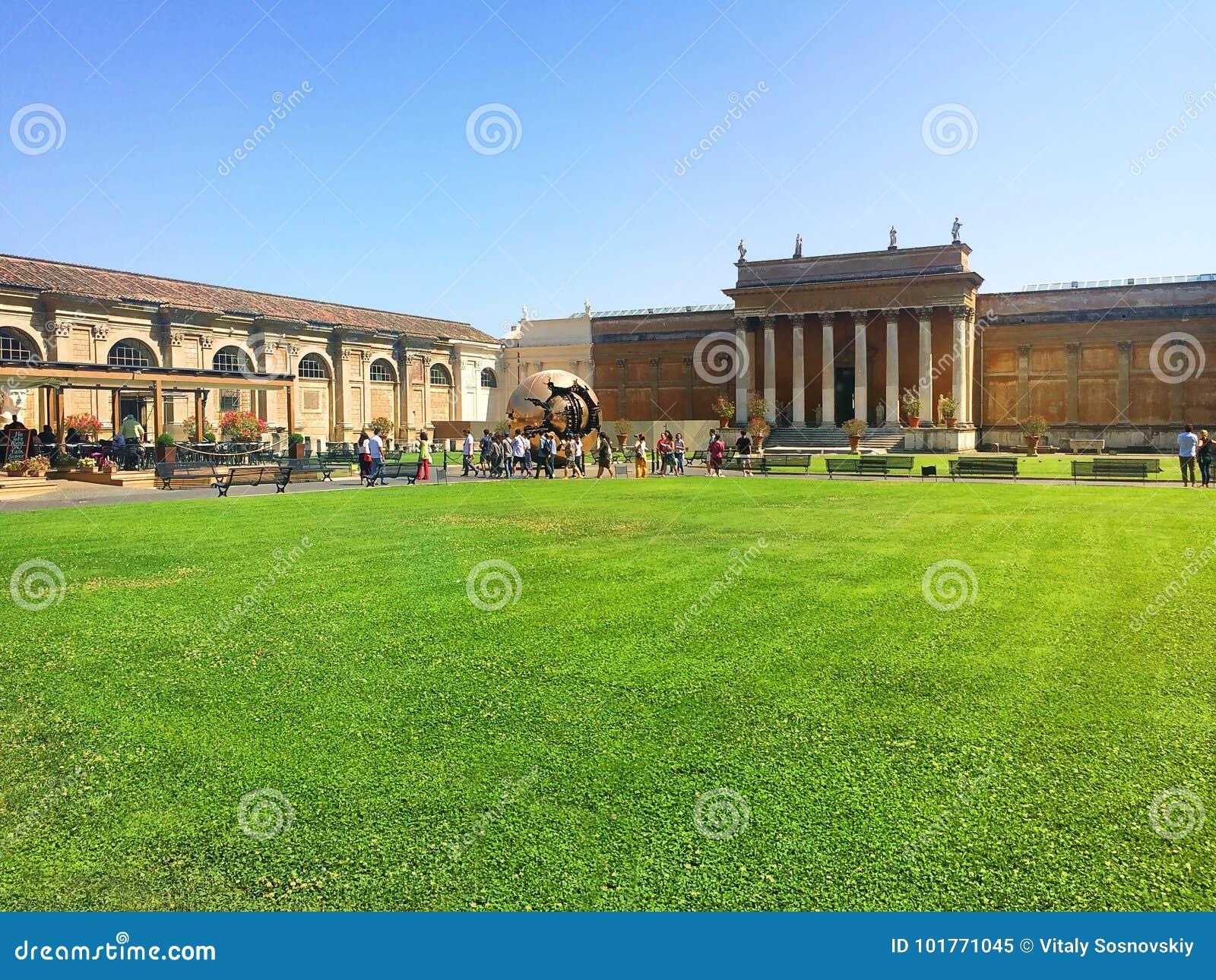 Vaticanen - ett heligt ställe, hjärtan av kristen kultur och religion